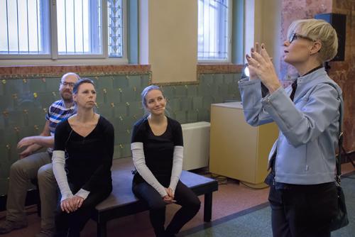 Jimmy, Annika, Emilia, Åsa, Budapest 2014