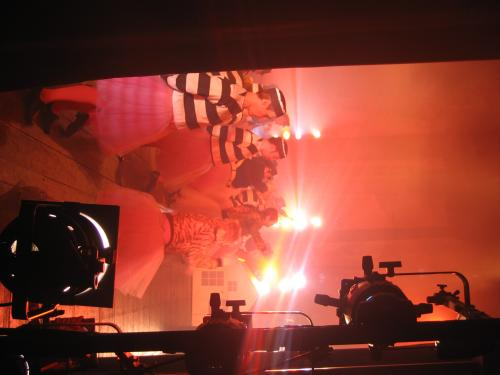Loranga Finale, backstage no 2
